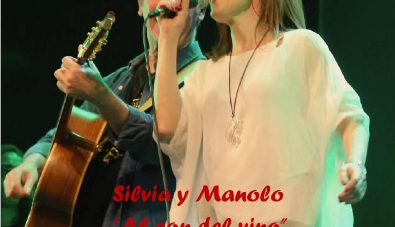 Finaliza el ciclo musical TARDES DE MUSICA Y VINO 2017, con «SILVIA Y MANOLO». El sábado día 1 de abril