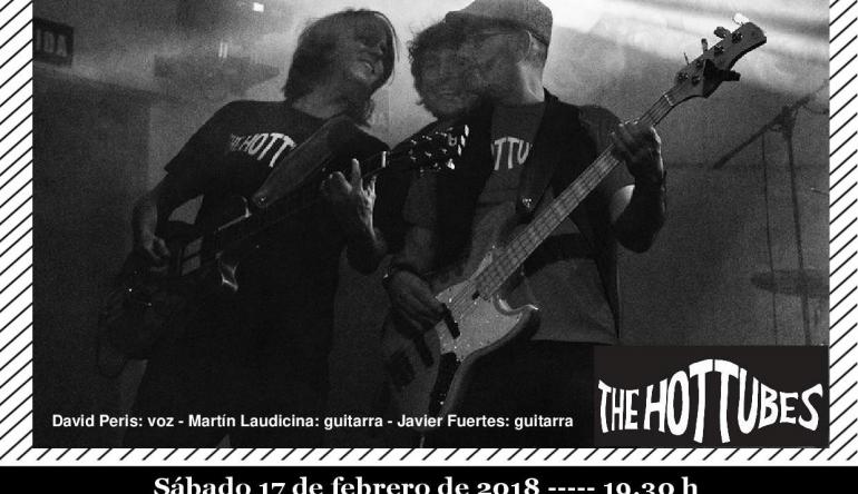 El Grupo THE HOTTUBES con Música Pop y Rock de los 80 en el IV Concierto de Tardes de Música y Vino 2018