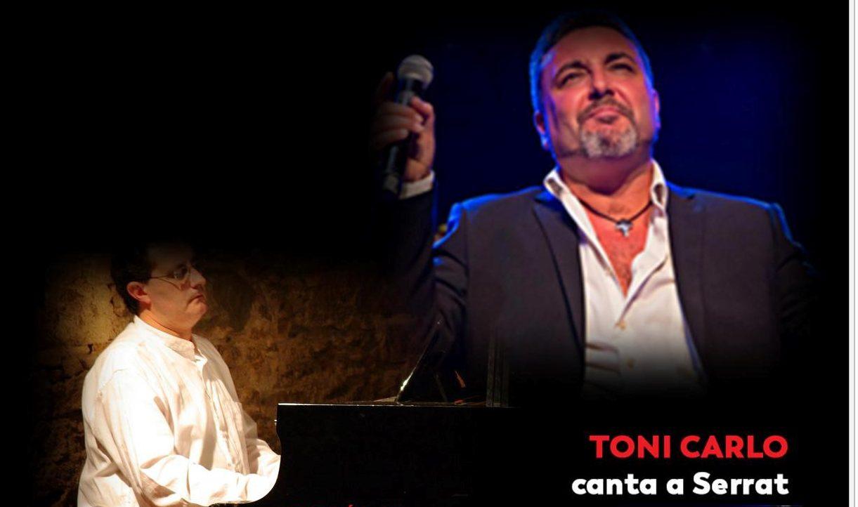 TONI CARLO CANTA A SERRAT EN LAS TARDES DE MUSICA Y VINO, CONCIERTO 18/01/2020
