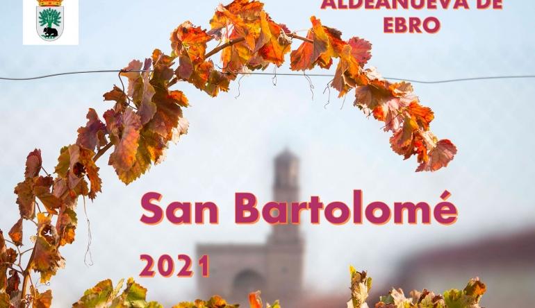 SAN BARTOLOME 2021 – ACTIVIDADES PROGRAMADAS